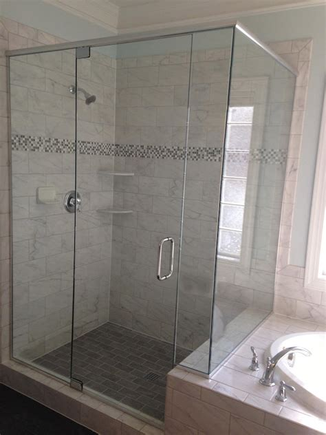 frameless shower glass framed vs semi frameless vs frameless shower doors shower door experts
