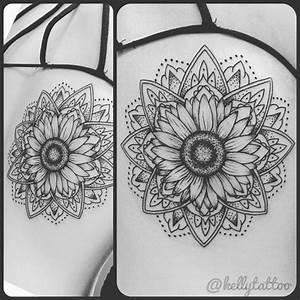 Sunflower Tattoo Outlines | www.imgkid.com - The Image Kid ...