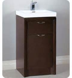 18 Inch Bathroom Vanity And Sink fairmont designs 110 v18 caprice 18 quot modern bathroom