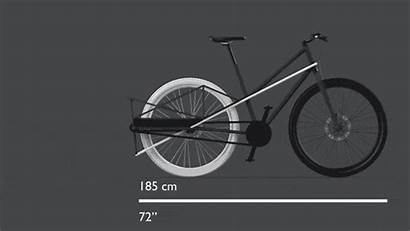 Convertible Kickstarter Bicycle Bike Bici Cargo Estensibile