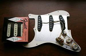 Fender Texas Special Loaded Prewired Pickguard Custom Shop White Black Aged Cream Mint Green