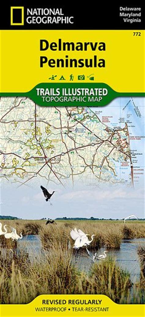 Trails Illustrated Delmarva Peninsula [ti772] $986