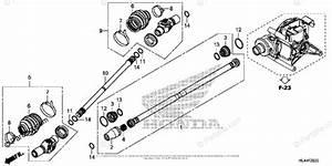 Honda Side By Side 2016 Oem Parts Diagram For Propeller