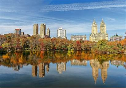 Park Central Wallpapers York Autumn Water Sky