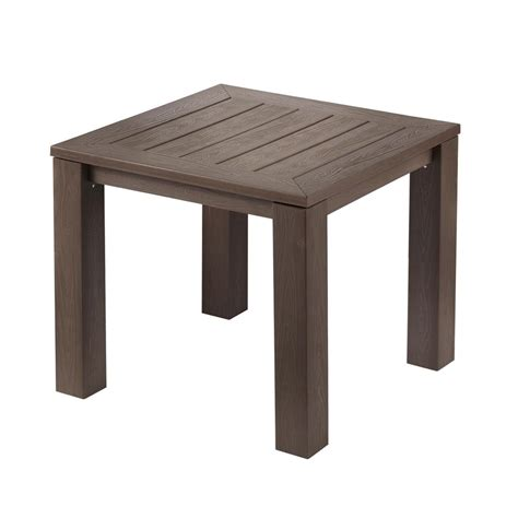 home depot garden table hton bay tacana square polywood outdoor bistro table