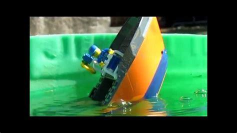 lego cargo ship sinking 3 youtube