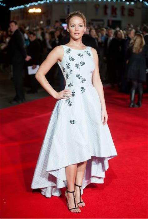 Jennifer Lawrences Best Red Carpet Dresses Showbiz