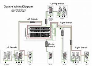 Electrical Outlet Wiring Diagrams Garage