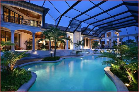 mediterranean house plans ranch luxury  swimming pool elegant manhattan  story