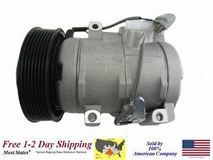 New A  C Ac Compressor With Clutch For  2001