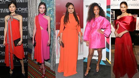 celebrities dressed pink week orange fashionista february way favorite ve