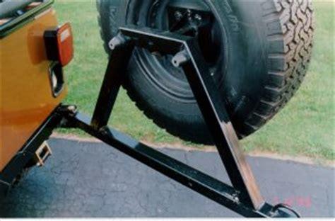 Jeep spare tire carrier fabrication DIY   jeepfan.com