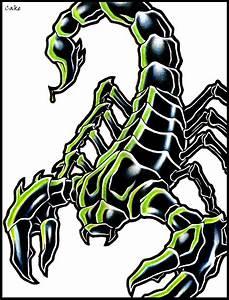 Scorpion Tattoo Design by CakeKaiser on DeviantArt