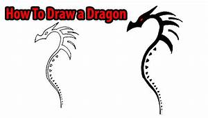 Simple Dragon Outline | Free download best Simple Dragon ...