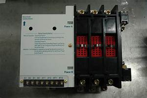 China 100 Amp Manual Transfer Switch  Manual Automatic