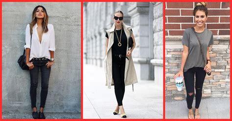 wear  black jeans  styling  outfit ideas