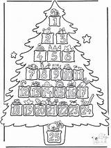 Advent sketch template