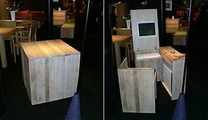 Schreibtisch Im Schrank Verstecken : 42 ausgefallene schreibtische f r ihr b ro ~ Markanthonyermac.com Haus und Dekorationen