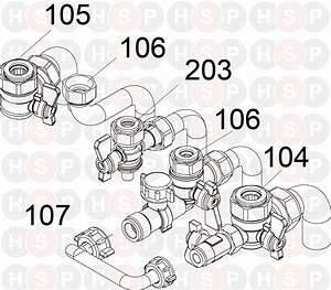 Ideal Ultra   Combi 30  Hardware Pack Diagram