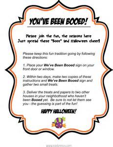 Have You Been Booed Printable