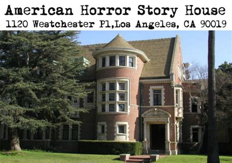 American Horror House by Spooky Property Profiles Real L A Buildings In Your
