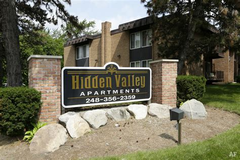 hidden valley apartments southfield mi apartment finder