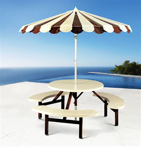 aluminum umbrella and bench sets all aluminum umbrella