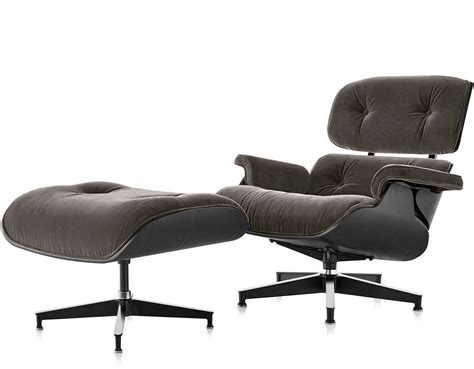 Ottoman Eames by Eames 174 Lounge Chair Ottoman In Mohair Supreme