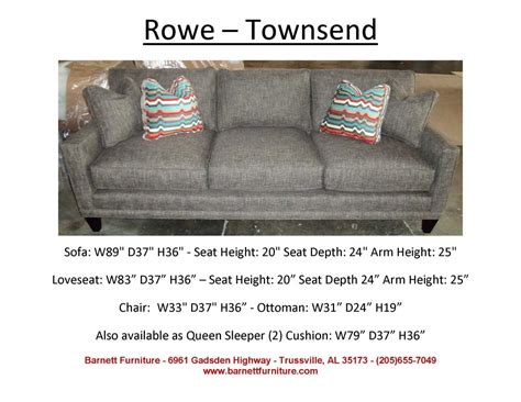 18 rowe nantucket sofa slipcover replacement