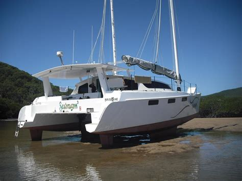 Catamaran Boats For Sale Brisbane by 2011 Simpson 40 Ft Junk Rig Catamaran For Sale Trade