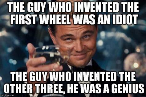Who Invented Memes - leonardo dicaprio cheers meme imgflip