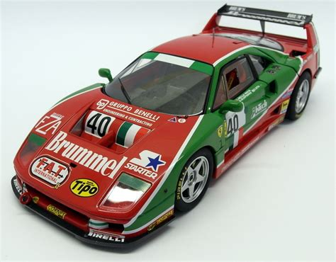 Opening doors, opening hood, opening trunk, detailed interior, rubber tires, steerable wheels, perfectly modeled engine, accurate gauges and dash inside. Hot Wheels 1/18 Scale Diecast - V7427 Ferrari F40 Competizione Le Mans 1995 #40 | eBay