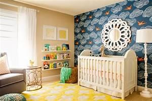 Chambre Bebe Jaune : le tapis chambre b b des couleurs vives et de l 39 imagination ~ Nature-et-papiers.com Idées de Décoration