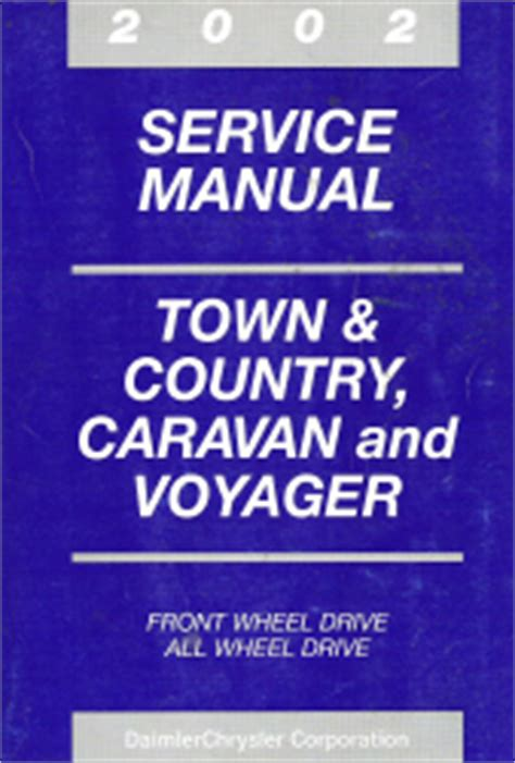best car repair manuals 2002 chrysler town country free book repair manuals 2002 chrysler town country dodge caravan plymouth voyager service manual