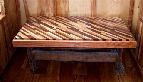 diagonal table  wood scraps   cool