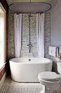 Small, Soaking, Tub, Inside, Walk, In, Shower, Combination, Combo