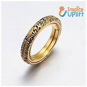 Handmade Sphere Spinner Ring  Inspireuplift Hold The