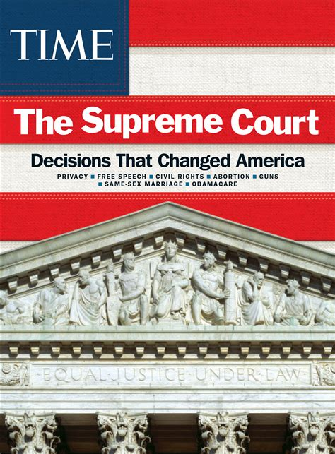 supreme court usa the best supreme court decisions since 1960 time