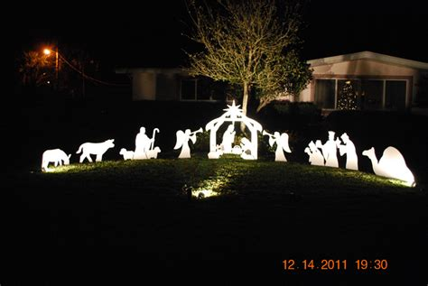 photo gallery outdoor nativity sets