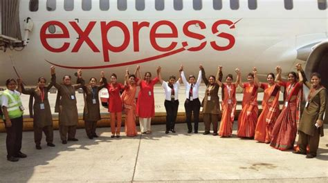 Air India Express operates eight international all-women crew