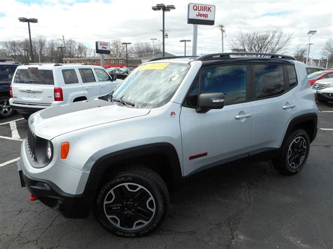 used jeep renegade certified pre owned 2015 jeep renegade trailhawk sport