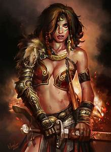 Barbarian princess Picture (2d, fantasy, girl, woman ...