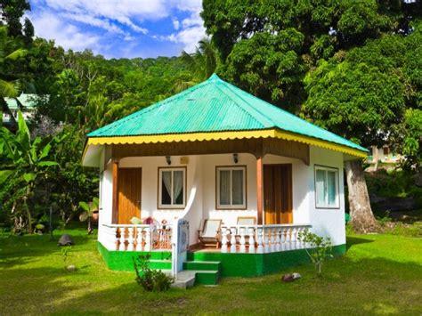 Tropical Beach Bungalow Plans Tropical Bungalow House