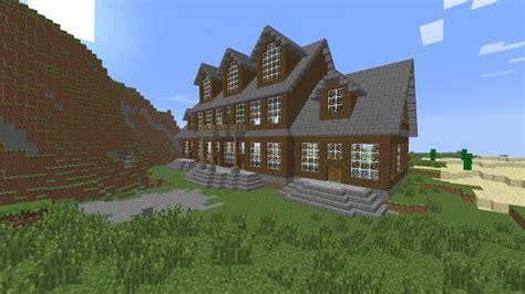 mansion build interior  exterior ideas screenshots show  creation minecraf