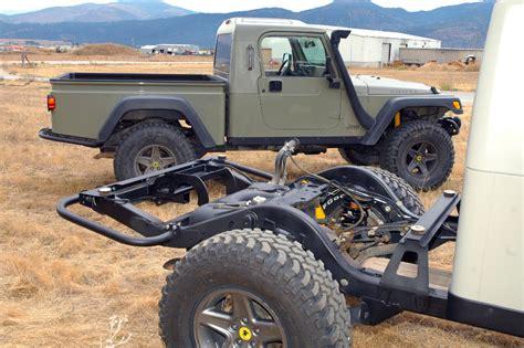jeep brute kit aev brute pickup conversion kit for jeep wrangler tj ok4wd