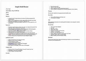 model resume template learnhowtoloseweightnet With cv models