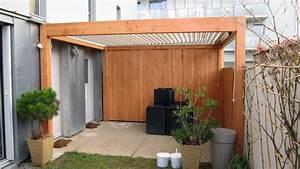 Construire Une Pergola En Bois : eco construction atao ~ Premium-room.com Idées de Décoration