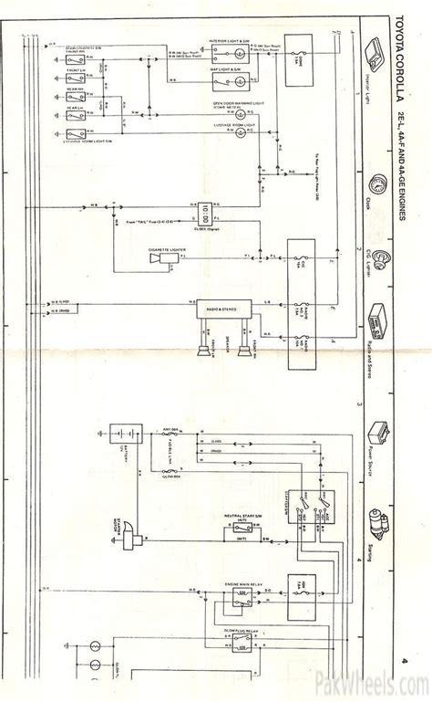 wiring diagram toyota corolla twincam images wiring