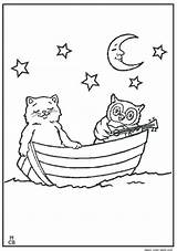 Boat Coloring Row Pages Boats Cliparts Printable Drawing Colouring Simple Ship Transportation Cat Mouse Mickey Getcolorings Children Library Clipart Sheets sketch template