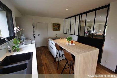 cuisine de 16m2 une cuisine avec verrière l 39 atout charme d 39 une cuisine semi ouverte iterroir